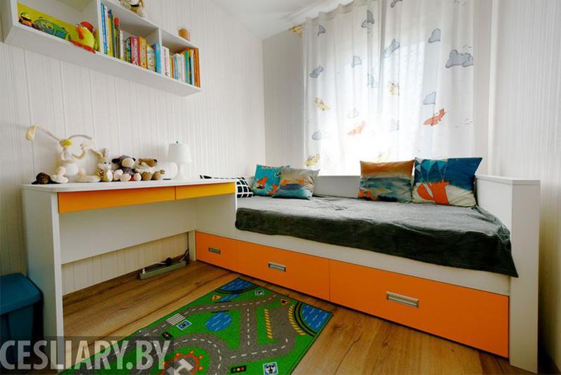 Детская мебель «Оранжевое настроение»